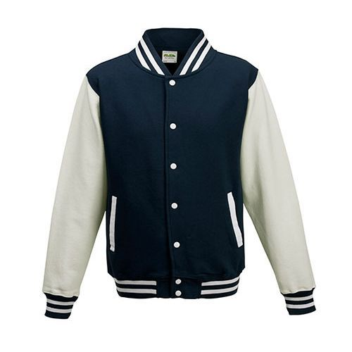 Kids` Varsity Jacket [3/4 (XS)] (Oxford navy) (Art.-Nr. CA061015)