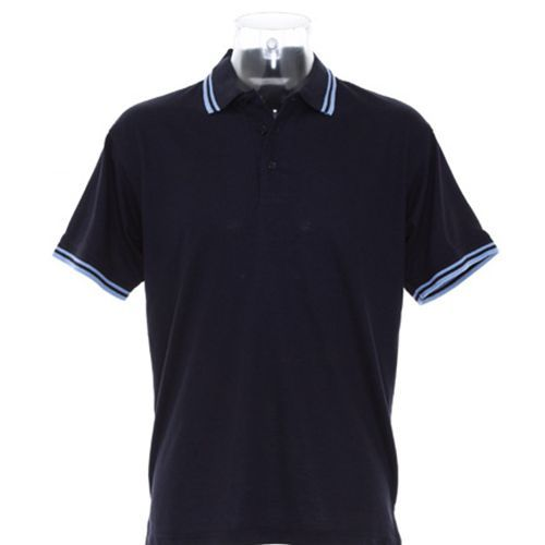 Classic Fit Tipped Collar Polo [XXL] (navy) (Art.-Nr. CA061104)