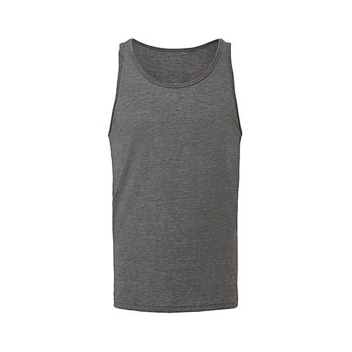 Unisex Jersey Tank Top [S] (grey Triblend (heather)) (Art.-Nr. CA061157)