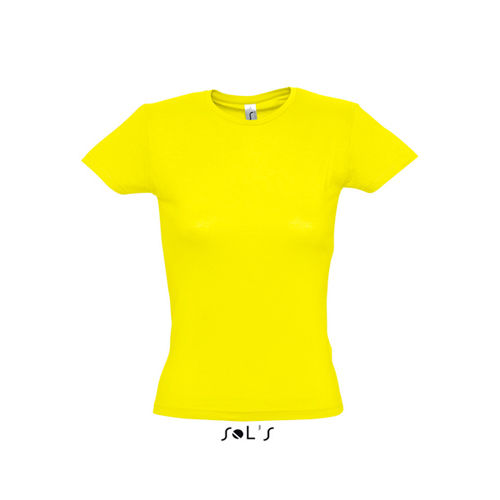 Ladies` T-Shirt Miss [XXL] (lemon) (Art.-Nr. CA061288)
