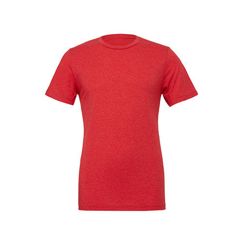 Unisex Triblend Crew Neck T-Shirt [S] (red Triblend (heather)) (Art.-Nr. CA061382)