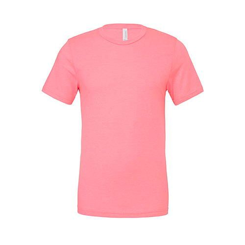 Unisex Poly-Cotton Short Sleeve Tee [M] (neon pink) (Art.-Nr. CA061525)