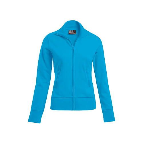 Women`s Jacket Stand-Up Collar [XS] (Turquoise) (Art.-Nr. CA061737)