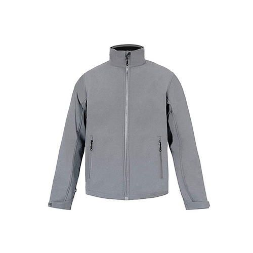 Mens Softshell Jacket C+ [L] (Steel grey (Solid)) (Art.-Nr. CA061958)