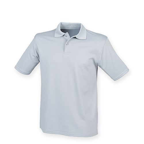 Men`s Coolplus Wicking Polo Shirt [S] (silver grey (Solid)) (Art.-Nr. CA062184)