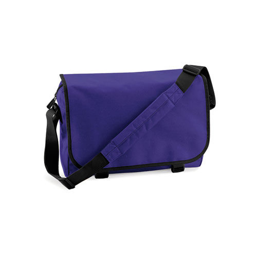 Messenger Bag [38 x 30 x 12 cm] (Purple) (Art.-Nr. CA062206)