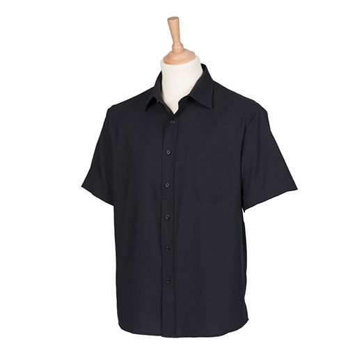 Men`s Wicking Short Sleeve Shirt [3XL] (black) (Art.-Nr. CA062250)