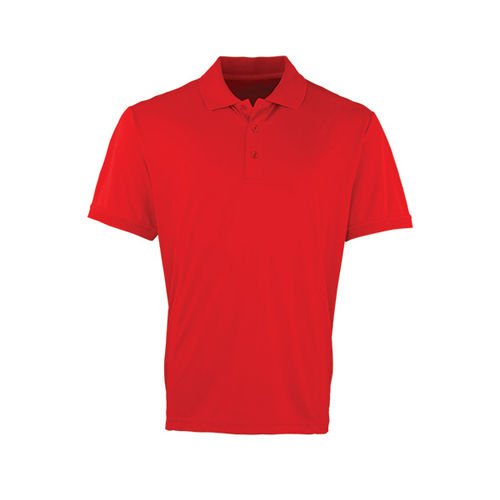 Men`s Coolchecker Piqué Polo [L] (red (ca. Pantone 200)) (Art.-Nr. CA062865)