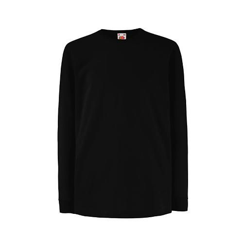 Kids Valueweight Long Sleeve T [152] (black) (Art.-Nr. CA062963)