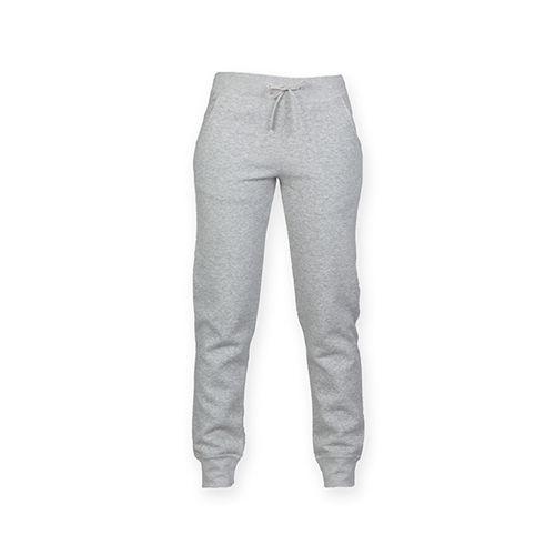 Ladies Slim Cuffed Jogger [XL] (heather grey) (Art.-Nr. CA063094)