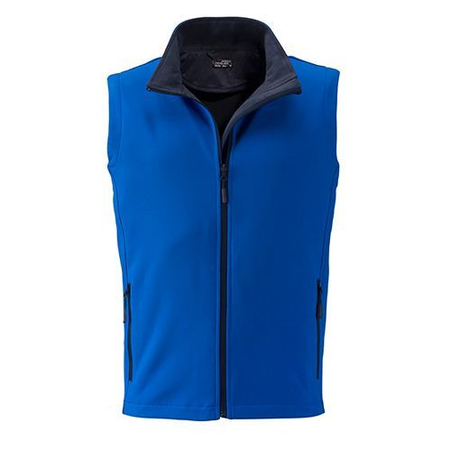 Men`s Promo Softshell Vest [S] (Art.-Nr. CA063476) - Angenehmes, weiches, 2-lagiges Softshell...