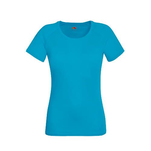 Performance T Lady-Fit [S] (Azure blue) (Art.-Nr. CA063494)