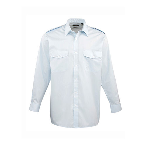 Pilot Shirt Longsleeve [46 (18)] (light blue) (Art.-Nr. CA063805)