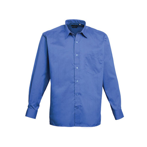 Poplin Long Sleeve Shirt (Herrenhemd/Langarm) [38 (15)] (royal) (Art.-Nr. CA063821)