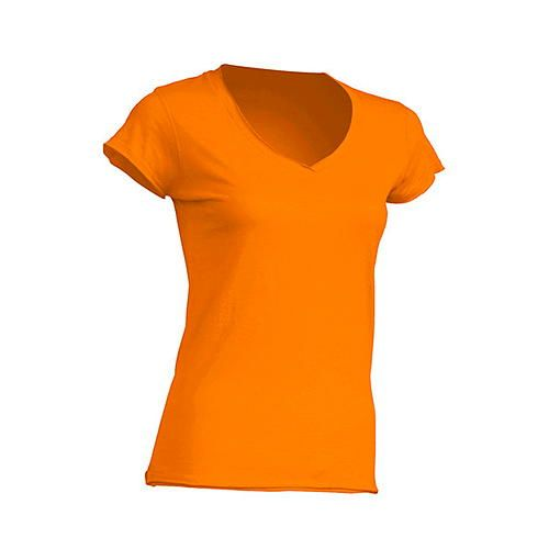 Ladies V-Neck Sicilia [M] (Tangerine) (Art.-Nr. CA064068)