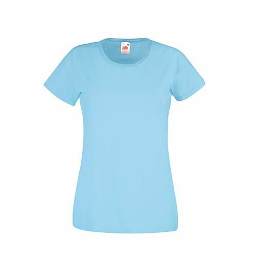Ladies Valueweight T [XXL] (Sky blue) (Art.-Nr. CA064156)