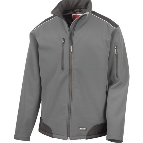 Ripstop Soft Shell Workwear Jacket [4XL] (grey) (Art.-Nr. CA064307)