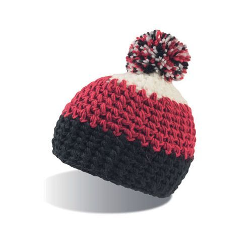 Everest Beanie [One Size] (black / Burgundy / white) (Art.-Nr. CA064413)