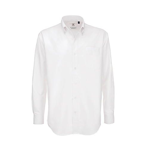 Shirt Oxford Long Sleeve /Men [M (39/40)] (white) (Art.-Nr. CA064635)