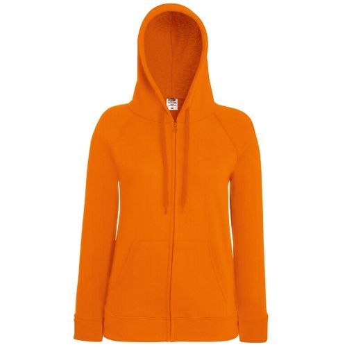 Ladies Lightweight Hooded Sweat Jacket [L] (orange) (Art.-Nr. CA065765)