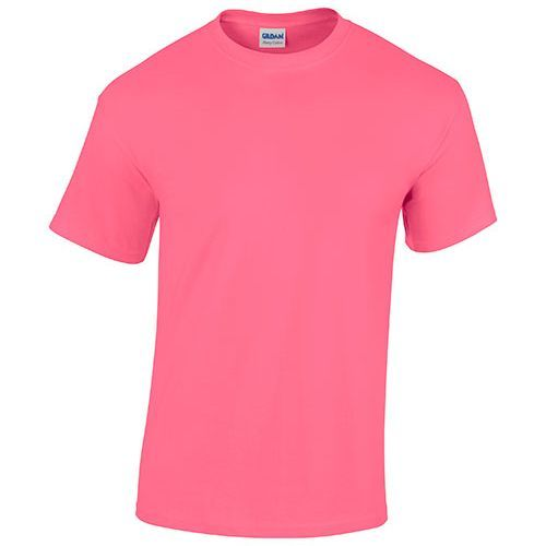Heavy Cotton™ T- Shirt [S] (Safety pink) (Art.-Nr. CA066384)