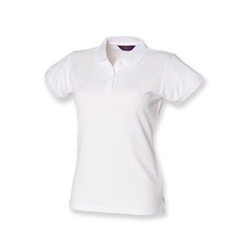 Ladies` Coolplus Wicking Polo Shirt [L] (white) (Art.-Nr. CA066575)