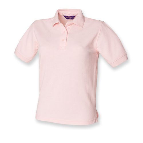 Ladies` 65/35 Classic Piqué Polo Shirt [L] (pink) (Art.-Nr. CA066743)