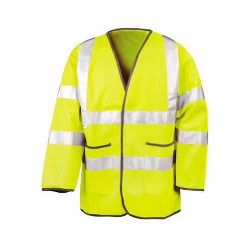 Lightweight Safety Jacket [M] (Fluorescent Yellow) (Art.-Nr. CA066770)