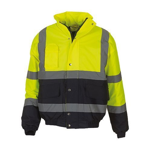 High Visibility Two-Tone Bomber Jacket [3XL] (Hi-Vis Yellow) (Art.-Nr. CA069341)