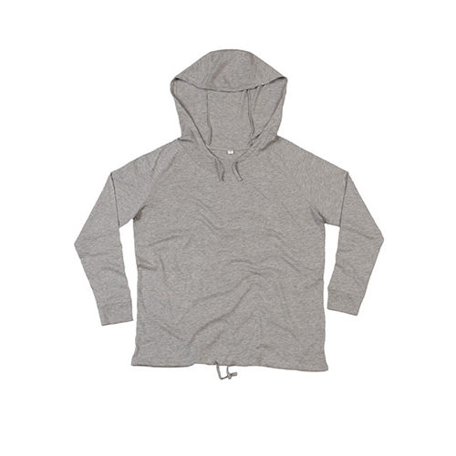 Women`s Loose Fit Hooded T [L] (heather grey Melange) (Art.-Nr. CA069801)
