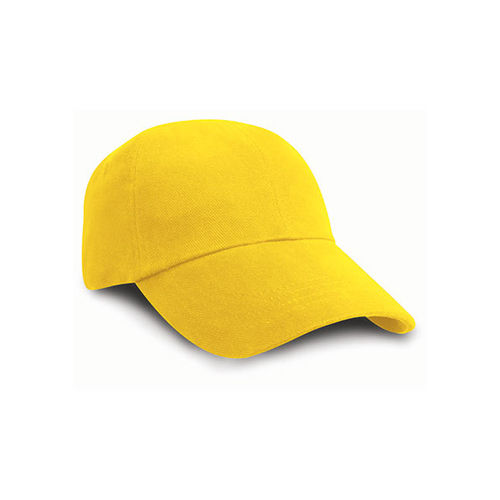 Low Profile Heavy Brushed Cotton Cap [One Size] (yellow) (Art.-Nr. CA070581)