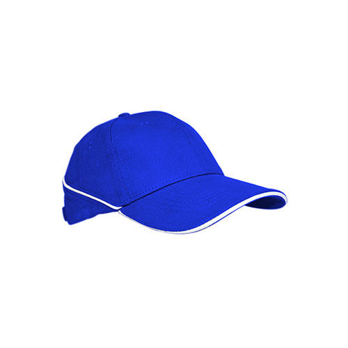 Cap White-Stripe [One Size] (royal blue) (Art.-Nr. CA073269)