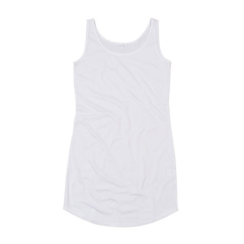 Curved Vest Dress [XL] (white) (Art.-Nr. CA080062)