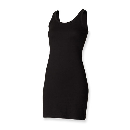 Ladies Stretch Vest Dress [L] (black) (Art.-Nr. CA083465)