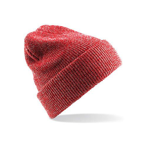 Beechfield Heritage Beanie [One Size] (Heather Red) (Art.-Nr. CA084940)