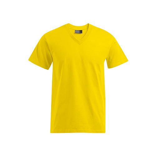 Premium V-Neck-T [S] (gold) (Art.-Nr. CA087789)