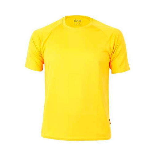 Rainbow Tech Tee [M] (gold yellow) (Art.-Nr. CA088025)