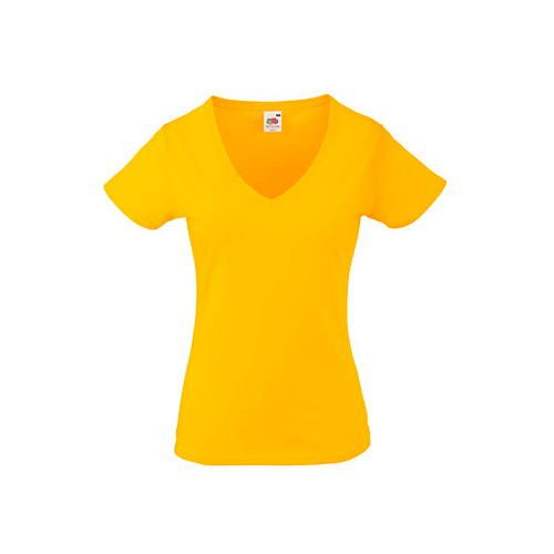 Valueweight V-Neck T Lady-Fit [M] (Sunflower) (Art.-Nr. CA090715)