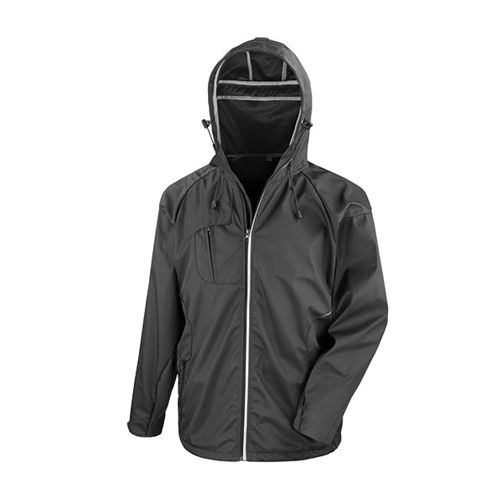 Hard Shell Jacket ´New York´ [S] (black) (Art.-Nr. CA093455)