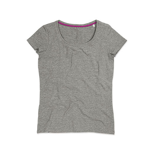 Claire Crew Neck for women [S] (grey heather) (Art.-Nr. CA093528)