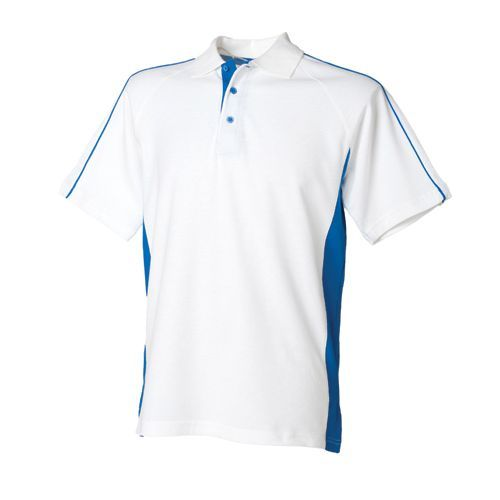 Men`s Sports Polo [S] (white) (Art.-Nr. CA095797)