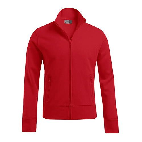 Men´s Jacket Stand-Up Collar [XL] (Fire red) (Art.-Nr. CA097660)