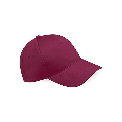 Beechfield Ultimate 5 Panel Cap [One Size] (Burgundy) (Art.-Nr. CA098541)