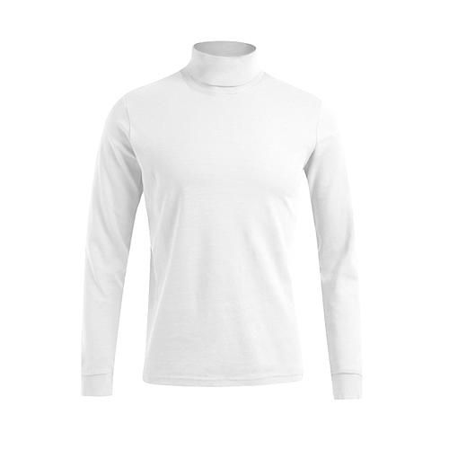 Men´s Turtleneck-T LS [M] (white) (Art.-Nr. CA101720)