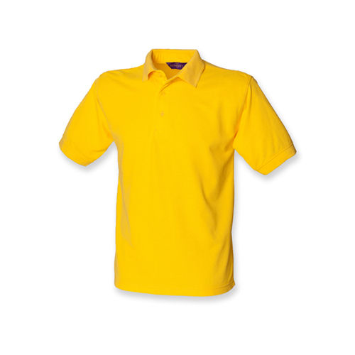 Henbury Men`s 65/35 Classic Piqué Polo Shirt [3XL] (Yellow) (Art.-Nr. CA102538)