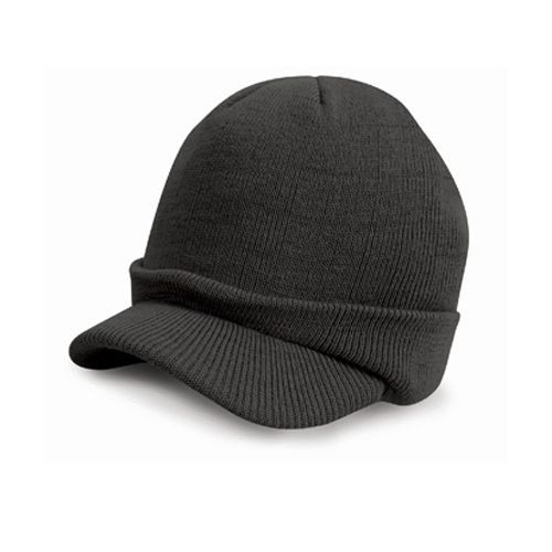 Esco Army Knitted Hat [One Size] (charcoal grey) (Art.-Nr. CA103436)