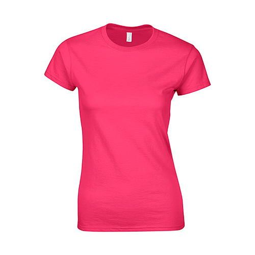Softstyle® Ladies´ T- Shirt [M] (Heliconia) (Art.-Nr. CA104350)