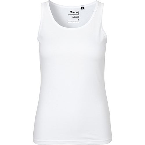 Ladies Tank Top [M] (white) (Art.-Nr. CA104521)