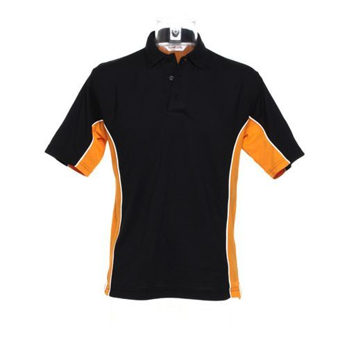 Track Polo [L] (black / orange / white) (Art.-Nr. CA104902)