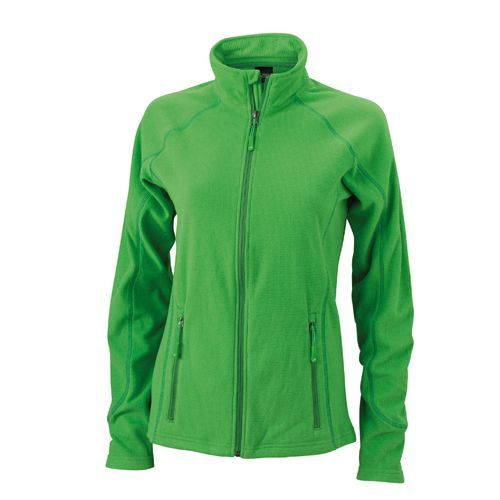 Ladies´ Structure Fleece Jacket [XL] (green / dark green) (Art.-Nr. CA105933)
